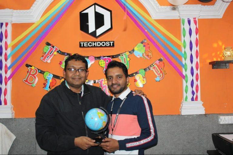 techdost-birthday-guest-company-office-celebration-meerut-delhi-ncr